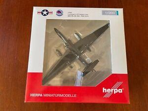 1/200 HERPA  NO. 557504  USAF LOCKHEED U-2S DAGON LADY 9TH RW REG. 80-1069