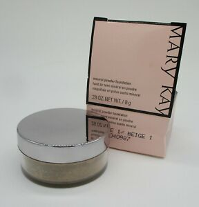 Mary Kay Mineral Powder Foundation BEIGE 1* Free Shipping *