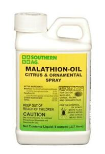 Southern Ag Malathion Oil Citrus & Ornamental Spray Insecticide 8 oz.