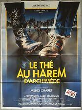 Affiche LE THE AU HAREM D'ARCHIMEDE Mehdi Charef 120x160cm *