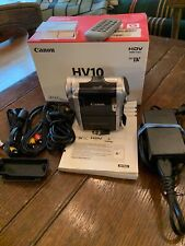 Canon Hv10 Camcorder -Barely used, with accessories