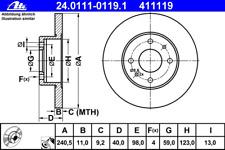 Bremsscheibe (2 Stück) - ATE 24.0111-0119.1