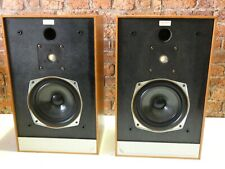 Pair Of Mordaunt Short Pageant Vintage Hi Fi System Use Bookshelf Loudspeakers
