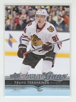 (73118) 2014-15 UPPER DECK YOUNG GUNS TEUVO TERAVAINEN #214 RC