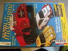 $$m Revue Auto modélisme N°125 Lola 3 L  Berliet T100  Porsche 911S LM 1972