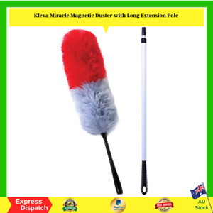 Kleva Miracle Magnetic Duster With Long Extension Pole - NEW - FREE SHIPPING AU