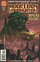 Martian Manhunter Comic Issue 11 Modern Age First Print 2011 Ostrander Hitch DC
