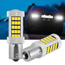 Pair LED 1156 BA15S Rückfahrlicht Tagfahrlicht Birnen für VW Golf Audi IS