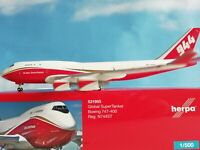 1:500 531955 Wings Herpa Wings Global Supertanker Services 747-400 Supertanker