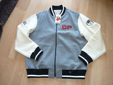 Canadian Pacific Gray/Ivory Jacket Size Large