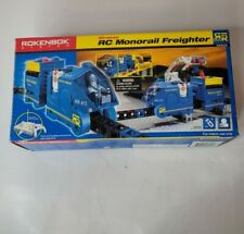 New ROKENBOK RC Monorail Freighter Wireless #06222 compatible w/ other bldg blks