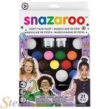 Snazaroo ultime Pack de fête Peinture Visage & Peinture corporelle ensemble
