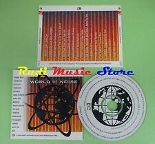 CD WORLD OF NOISE compilation PROMO 1995 MORRISSEY RADIOHEAD ROBERTSON (C14)