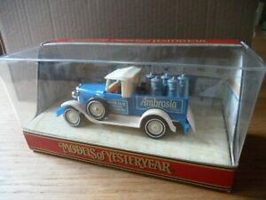 Matchbox Models of Yesteryear Y35-B 1930 MODEL 'A' FORD Ambrosia Devon Creamery