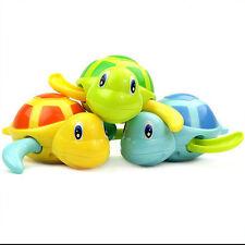 Cute New Born Babies Swim Turtle wound-up Chain Baby Children Bath Toys