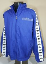 VTG Adidas Windbreaker Jacket Trefoil Logo 80's Colorblock Track 90's Large