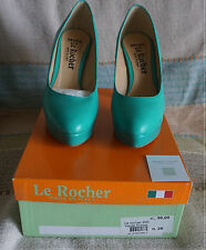 Scarpe Donna Le Rocher 205 verde prince  36 Made in ITALY