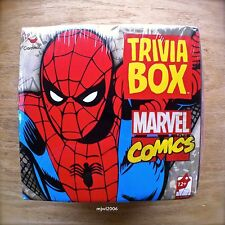 TRIVIA BOX MARVEL COMICS Card Game IRON MAN CAPTAIN AMERICA HULK THOR Cardinal