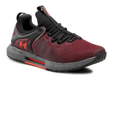 Under Armour Mens Hovr Rise 2 Running Shoes Trainers Sneakers Burgundy Sports