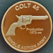 1 oz Copper Round - Colt 45