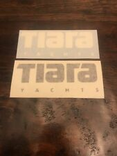 Tiara Yachts Vinyl Decal