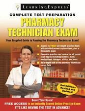Pharmacy Technician Exam by Learning Express Editors (2014, Paperback, Revised)