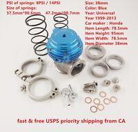 38mm External Wastegate Mvs V-Band Flange Turbo USA 2-3 Day Delivery