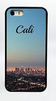 NEW CALI CALIFORNIA BEACH BLACK PHONE CASE COVER FOR IPHONE 6S 6 PLUS 5C 5S 5 4