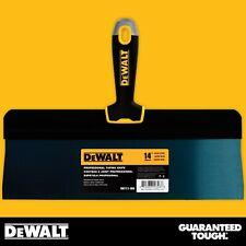 "DEWALT Taping Knife 14"" Premium Blue Steel Big Back Drywall Taping Tool"