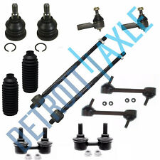 12PC Front Rear Sway Bar + Inner Outer Tierod for Hyundai Elantra 2001-2005 2006