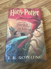 Autographed JK Rowling Signed Harry Potter & Chamber Of Secrets 1st US Edition