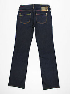 Diesel womens Size 28w reg leg 31L Ronhar bootcut blue jeans