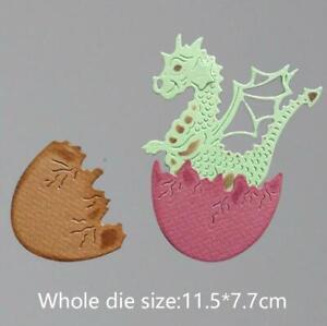 Dinosaurier Ei Metall Stencil Cutting Dies Scrapbooking Stanzschablone Karten
