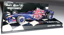 Minichamps F1 Toro Rosso Cosworth STR1 Neel Jani 1/43 Test Driver 2006