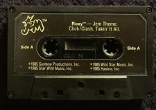 Vintage Jem And The Holograms Roxy Misfits Replacement Cassette Tape Hasbro 1985