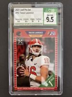 Trevor Lawrence 2021 Leaf Pro Set Rookie Card RC #PS1 CSG 9.5 Gem Mint