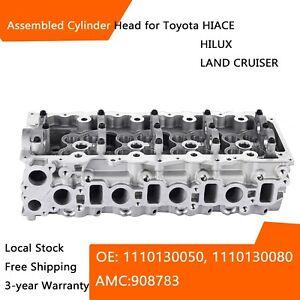Bare Cylinder Head fits TOYOTA HIACE  HILUX LAND CRUISER PRADO 1KD-FTV 908783