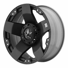 "KMC XD Series 18x9 XD775 Rockstar Wheel Matte Black 8x6.5 / 8x165.1 +0mm 5.00""BS"