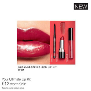 Avon Ultimate lip kit - Show Stopping Red