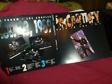 Paul McCartney Back In The USA TRIPLE COLORED VINYL LP