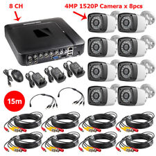 HD 4MP 1520P 4CH/8CH 5in1 AHD DVR H.265 Surveillance System CCTV P2P HDMI Kit