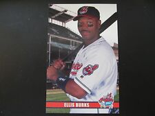 2003 Ellis Burks Cleveland Indians Post Cards / Postcards