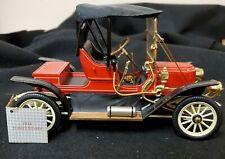 1911 Stanley Steamer Franklin Mint Die-Cast Car 1:16 w/COA No Box Beautiful