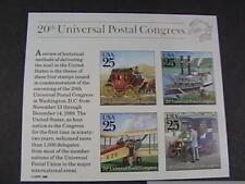 U.S. # 2438--MINT NEVER/HINGED---SOUVENIR SHEET--WORLD STAMP EXPO--1989