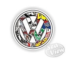 Volkswagen Sticker Bomb Badge Car Van Sticker Decal Funny Stickers JDM Euro VW