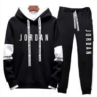 Men's Michael Air Legend 23 Jordan Tracksuit Hoodie & Pants Sportswear Hoodies