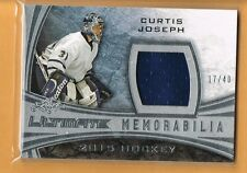 2015 Leaf Ultimate Curtis Joseph Game Used Jersey /40 Toronto Maple Leafs