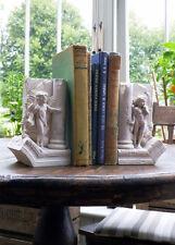 chérubin Serre-livres cachette & Seek 17cm Sculptures fait à la main GYPSE