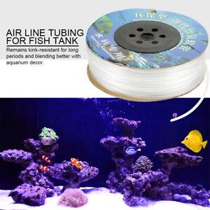 PVC Schlauch Aquariumschlauch Luftschlauch 100M für Aquarium Luftpumpe BEST