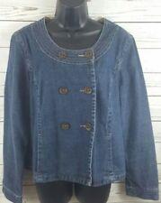 Sonoma Denim Jacket Women's Size XL